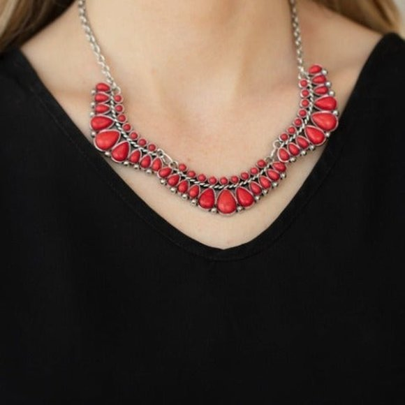 Naturally Naive Red Necklace